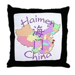 Haimen China Throw Pillow