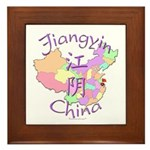 Jiangyin China Framed Tile