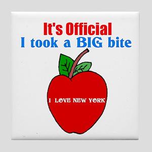 I Love New York. Tile Coaster