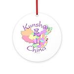 Kunshan China Ornament (Round)