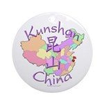 Kunshan China Ornament (Round)