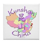 Kunshan China Tile Coaster