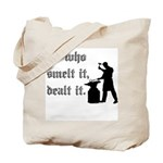 He Who Smelt It Dealt It Tote Bag