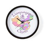 Lianyungang China Wall Clock