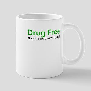 Drug Free Funny Weed College Humor Stoner Nov Mugs