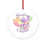 Suqian China Ornament (Round)