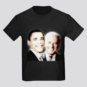 Barack Obama for President Kids Dark T-Shirt