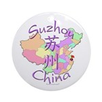 Suzhou China Ornament (Round)