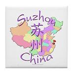 Suzhou China Tile Coaster