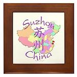 Suzhou China Framed Tile
