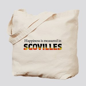 Happiness Measured in Scovill Tote Bag
