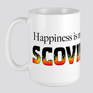 Happiness Measured in Scovill Large Mug