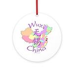 Wuxi China Ornament (Round)