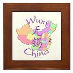 Wuxi China Framed Tile