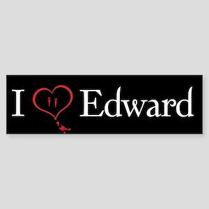 Love Edward Twilight Bumper Sticker