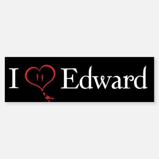 Love Edward Twilight Bumper Bumper Bumper Sticker