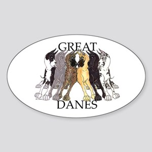 6C Lean GDs Oval Sticker