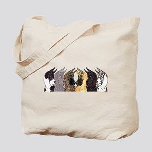 C6 Heads Tote Bag