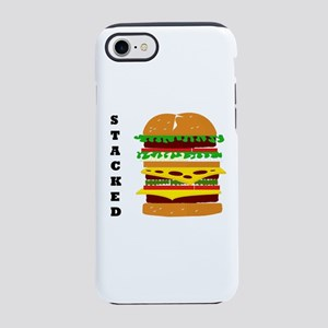 Stacked Triple Burger Iphone 8/7 Tough Case