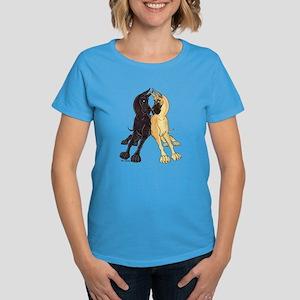 CF CBlk Lean Women's Dark T-Shirt