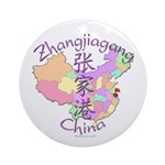 Zhangjiagang China Ornament (Round)