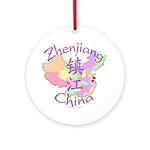 Zhenjiang China Ornament (Round)