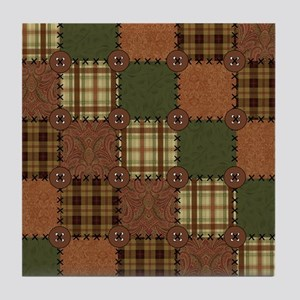 QUILT SQUARE Tile Coaster