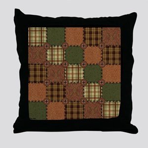 QUILT SQUARE Throw Pillow