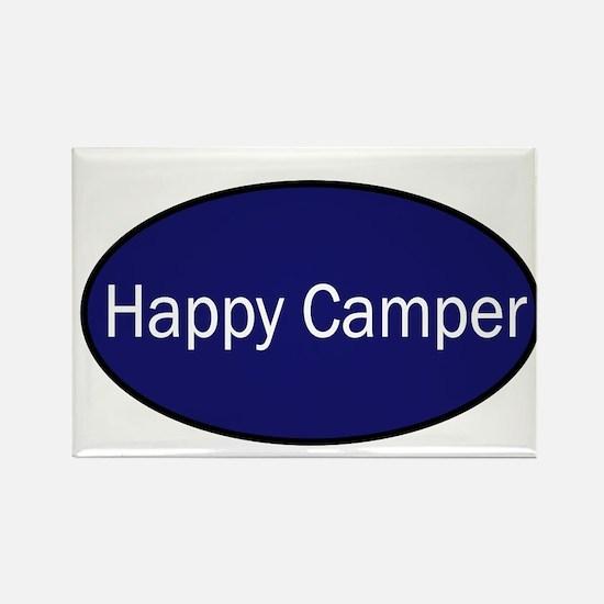 Cute Camping humor Rectangle Magnet