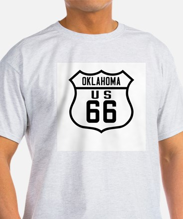 Route 66 Old Style - OK T-Shirt