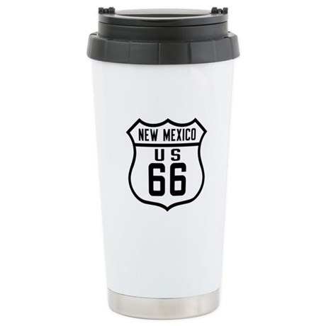 Route 66 Old Style - NM Stainless Steel Travel Mug