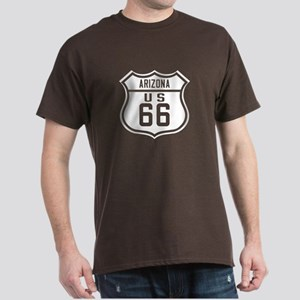 Route 66 Old Style - AZ Dark T-Shirt