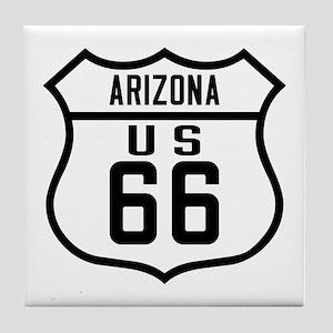 Route 66 Old Style - AZ Tile Coaster