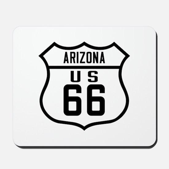 Route 66 Old Style - AZ Mousepad