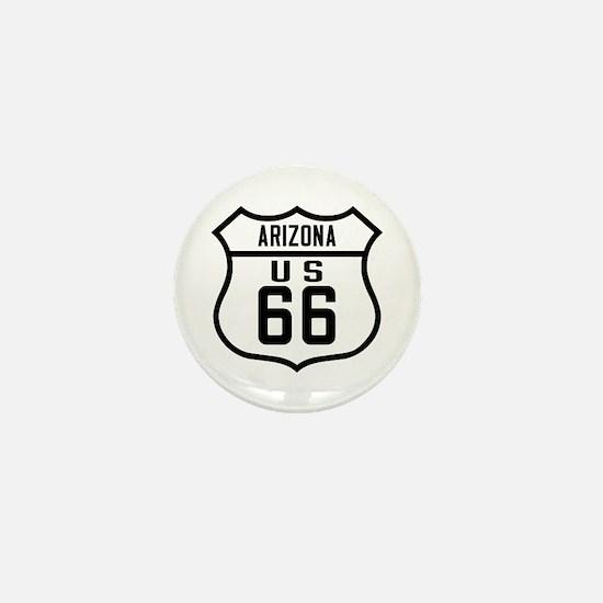 Route 66 Old Style - AZ Mini Button