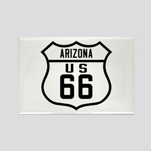 Route 66 Old Style - AZ Rectangle Magnet