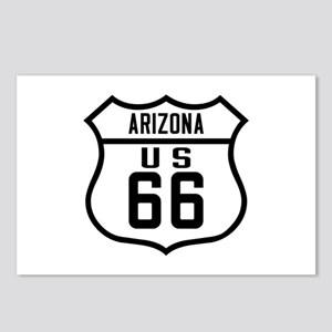 Route 66 Old Style - AZ Postcards (Package of 8)