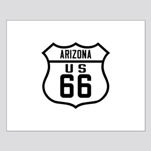 Route 66 Old Style - AZ Small Poster