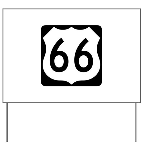 R-66 New Style Yard Sign