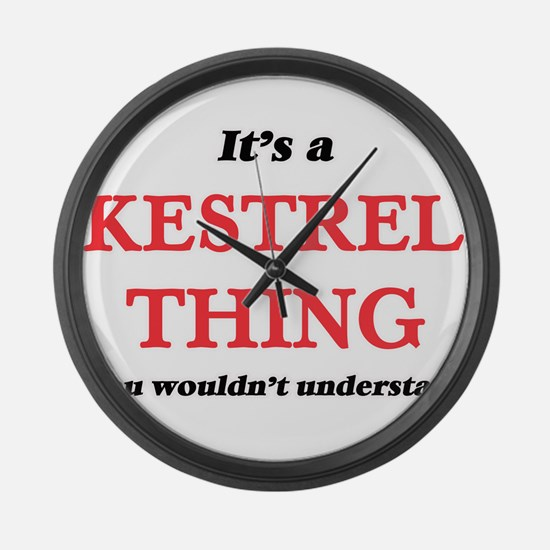 It's a Kestrel thing, you wou Large Wall Clock