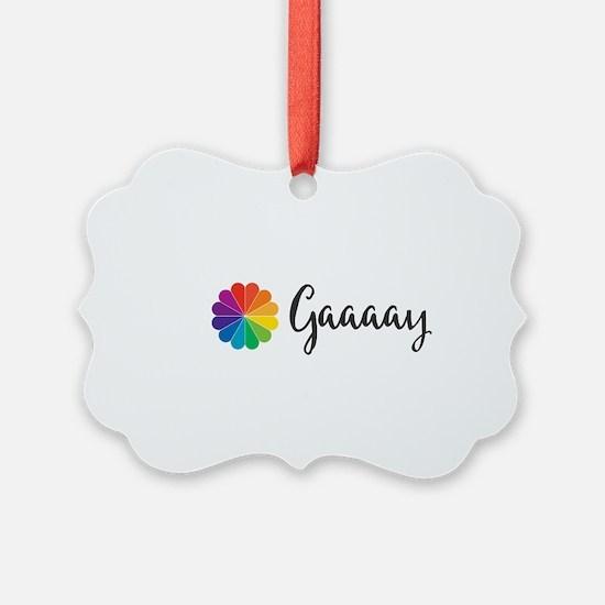Gaaaay Ornament