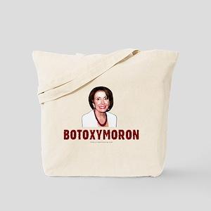 """""""Botoxymoron"""" anti-Pelosi Tote Bag"""