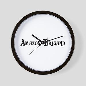 Amazon Brigand Wall Clock