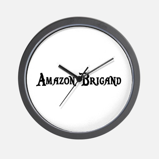 Amazon Brigand Wall Clock