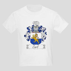 Carli Family Crest Kids T-Shirt