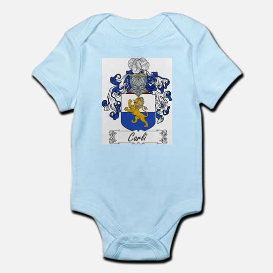 Carli Family Crest Infant Creeper