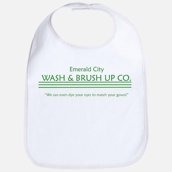 emerald city wash and brush u Bib