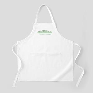 emerald city wash and brush u BBQ Apron