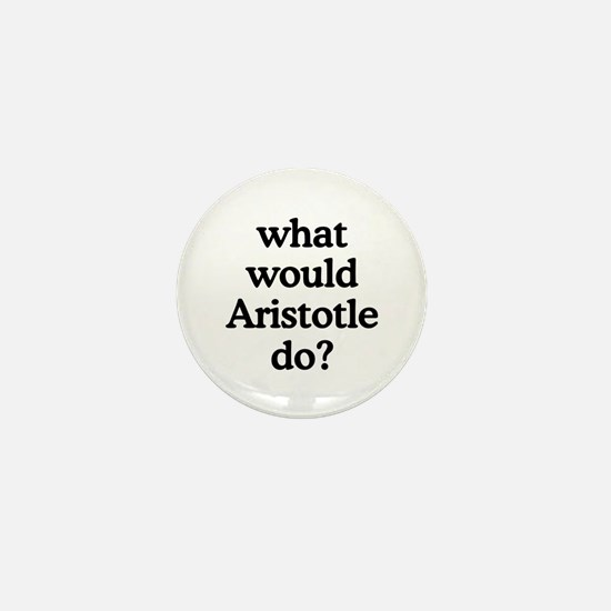 Aristotle Mini Button