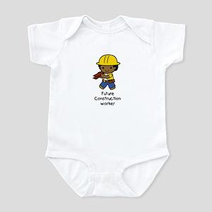 Future Construction Worker Infant Bodysuit